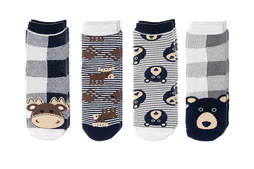 Cabin Socks - Moose | Black Bear