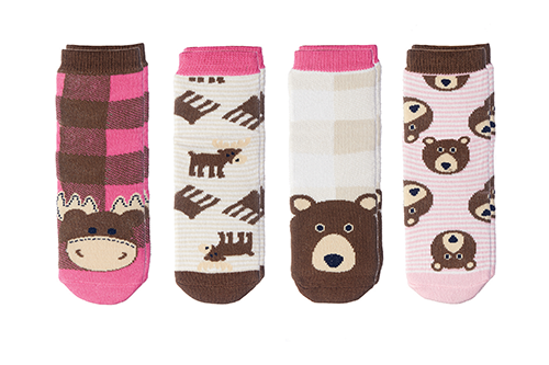 Cabin Socks - Moose | Brown Bear