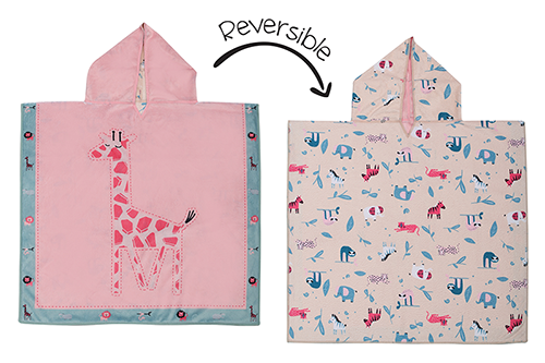 Reversible Kids Cover Up - Giraffe | Zoo