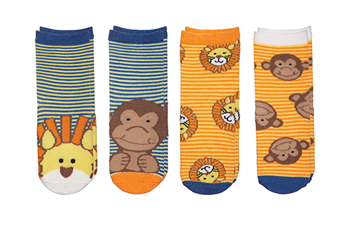 Sock Safari - Lion | Monkey