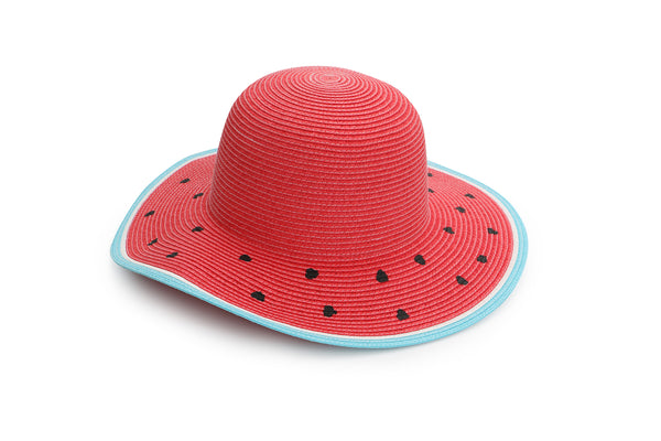 Kids Straw Hat - Watermelon
