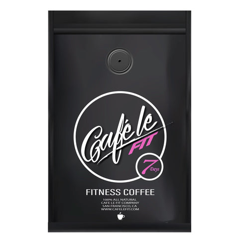 Cafe'leFIT        7 DAY FITNESS COFFEE!