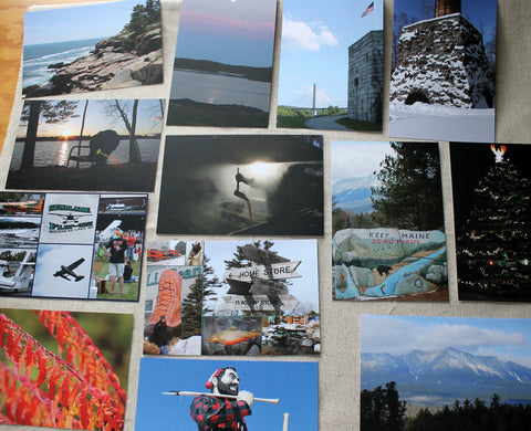 Snapshots from Maine - Photo Postcards