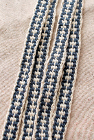 "Woven Cotton Strap - 85"" usable length"