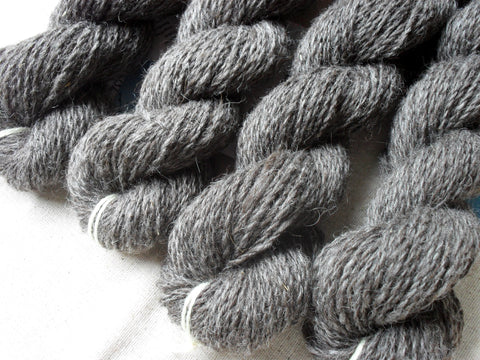 """Black Ice"" - Icelandic Yarn"