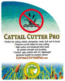 Cattail Cutter Pro - Weed Removal Cattail Cutter Pro by WeedGator Products - Remove Cattails Safely