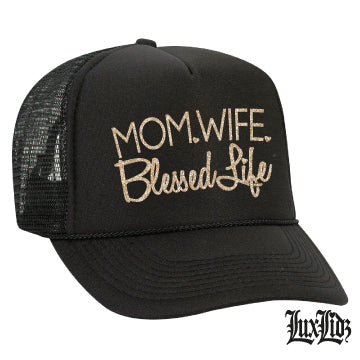 Mom Wife Blessed Life HAT