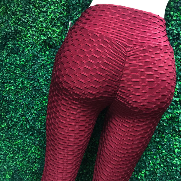 Not so Basic BURGUNDY Leggings