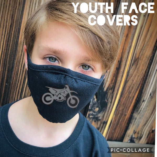 YOUTH Face Cover (Your Choice of Design)