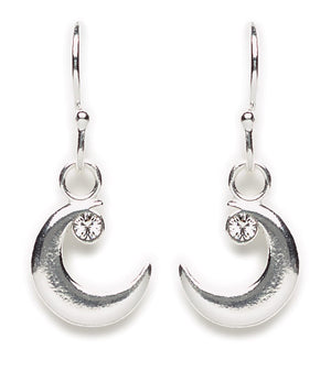 Crescent Moon Earring