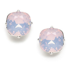 Rose Water Opal Crystal Post Earring