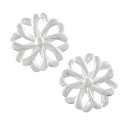 Looping Flower Post Earring