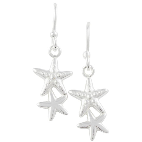 Double Starfish Earring