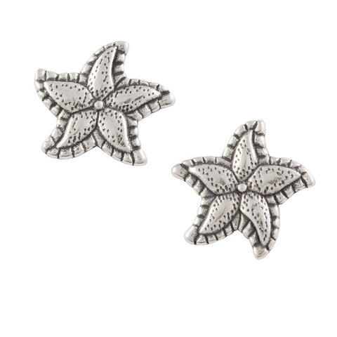 Fancy Starfish Post Earring