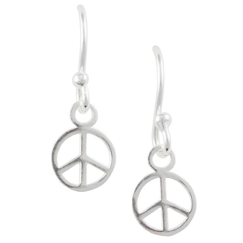 Tiny Peace Earring