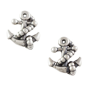 Boat Anchor Post Earring