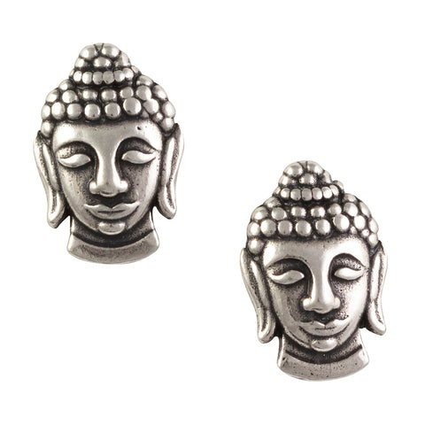 Buddha Head Post Earring