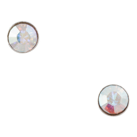 Tiny Aurora Crystal Post Earring