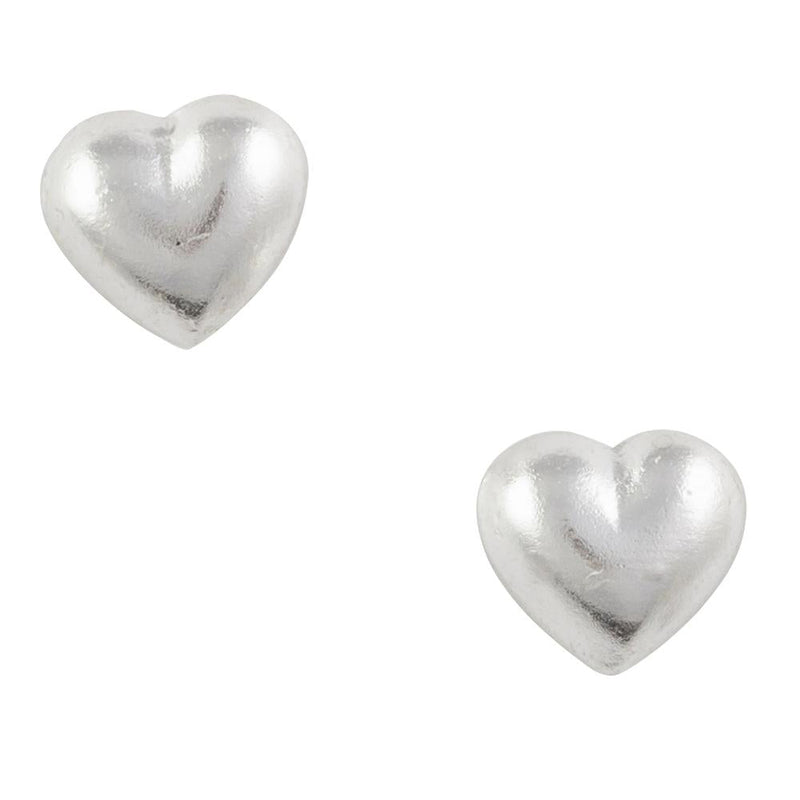 Simple Heart Post Earring