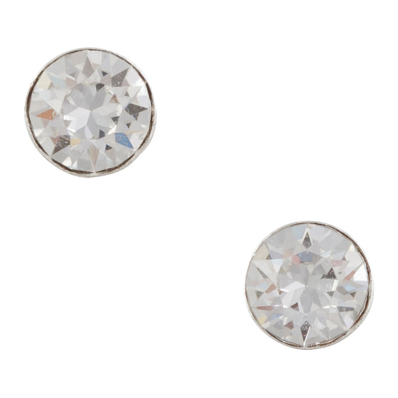 Crystal Clear Post Earring