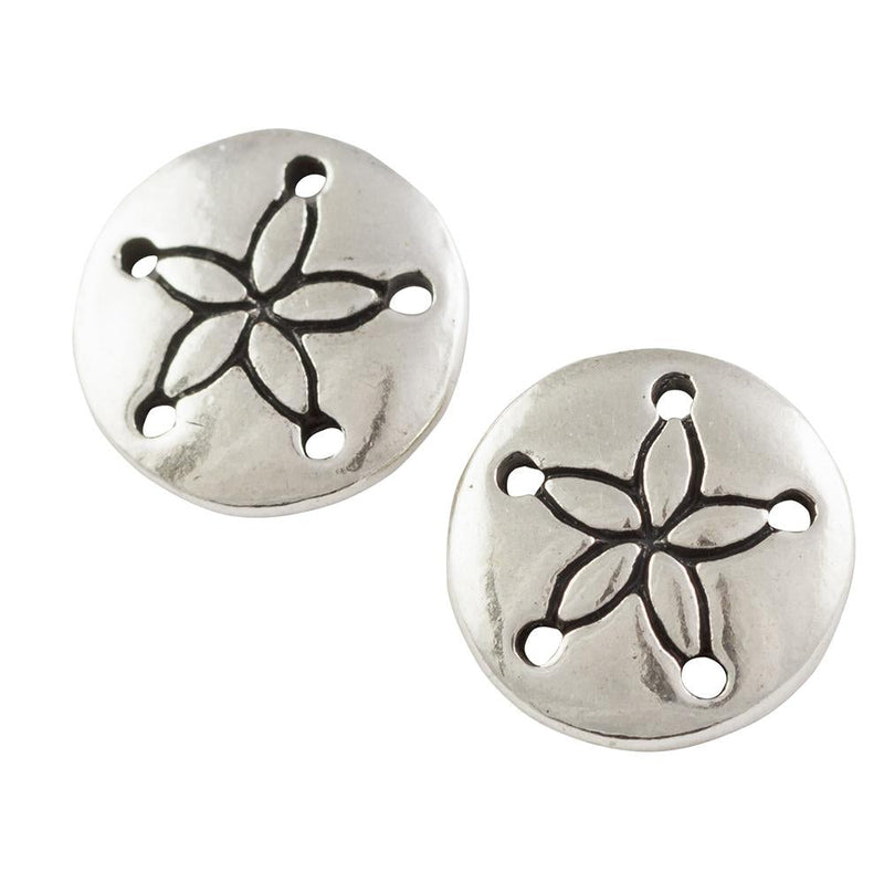 Sand Dollar Post Earring