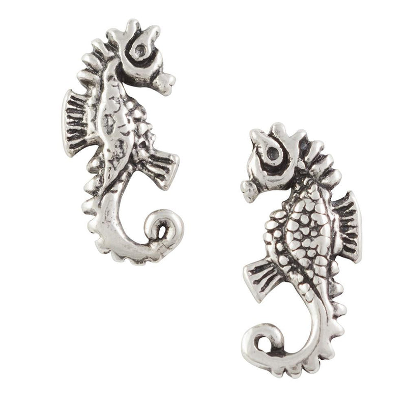 Seahorse Post Earring