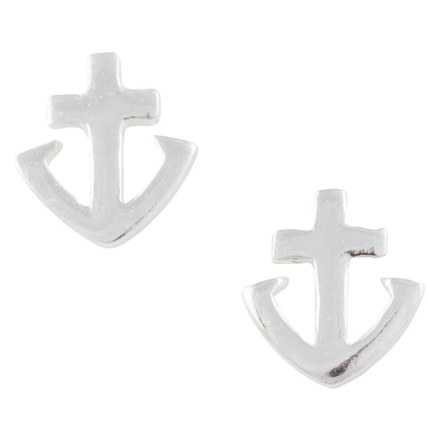 Anchor Post Earring