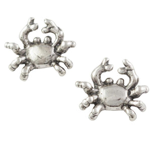 Crab Post Earring