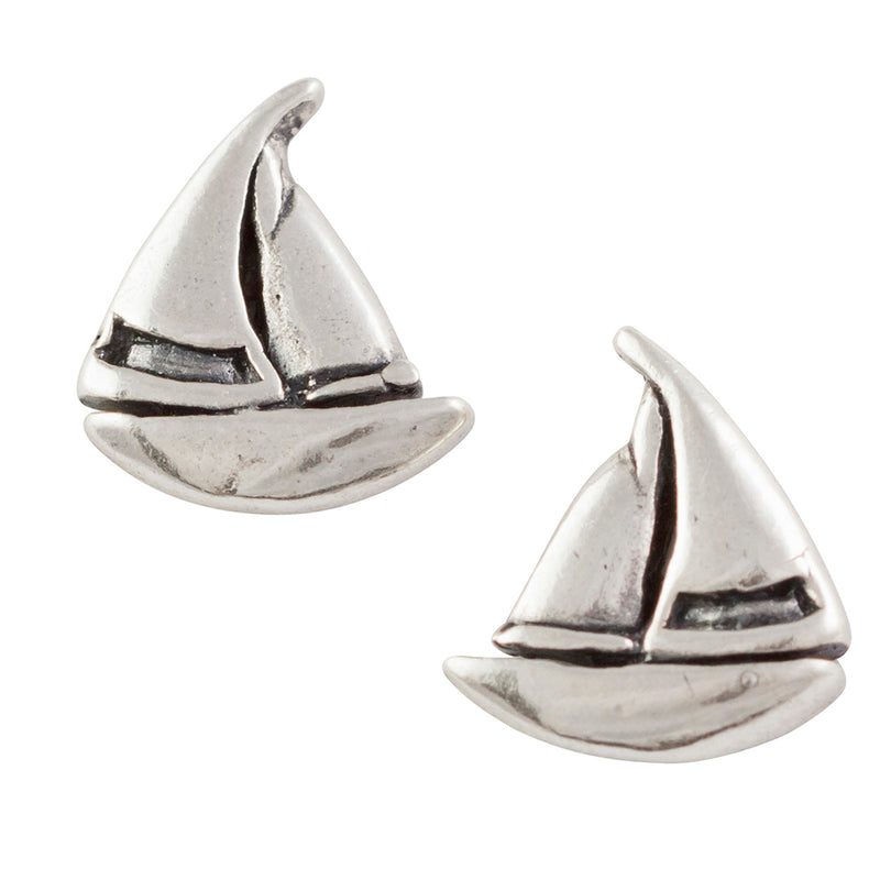 Sailboat Post Earring