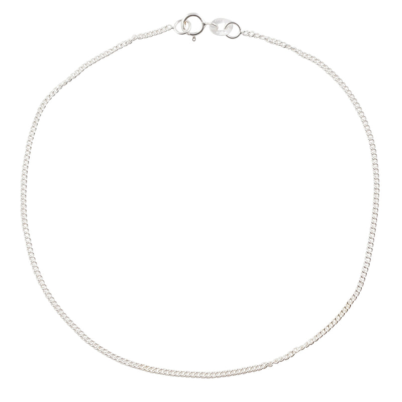 Simple Chain Anklet - Curb