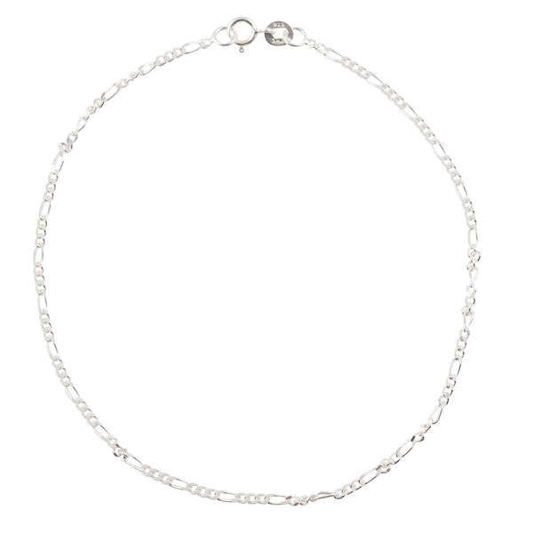 Simple Chain Anklet - Figaro
