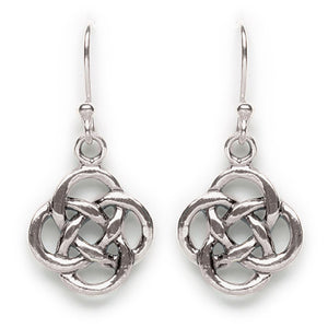 Round Celtic Knot Earrings