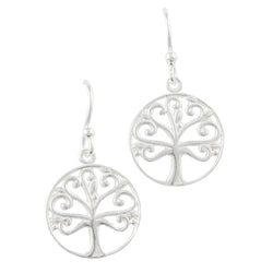 Cutout Tree Earring