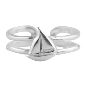 Sailboat Toe Ring