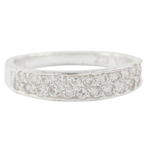 Crystal Stacking Ring