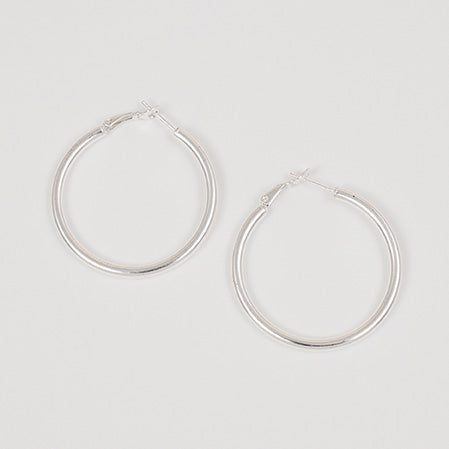 Extra Thick Hoop Earrings - 40mm