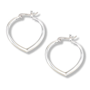 Pointed Hoop Earring
