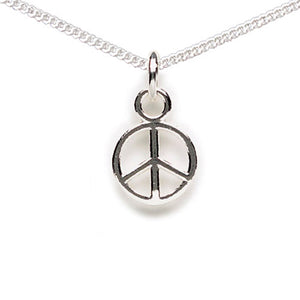 Peace Sign Anklet