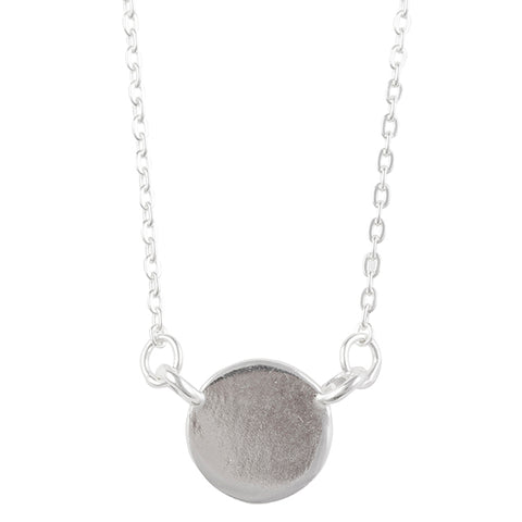 Minimal Circle Necklace - Tomas