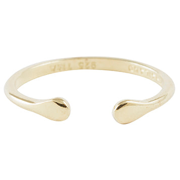 Bring it Together Adjustable Ring in Gold