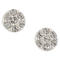 Crystal Circle Post Earring