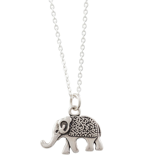 Elephant With Blanket Necklace