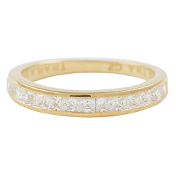 2mm Stackable Ring - Gold Plated Sterling