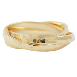 Eternal Tangle Rolling Ring in Gold