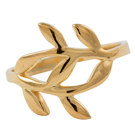 Growing Together Ring in Gold