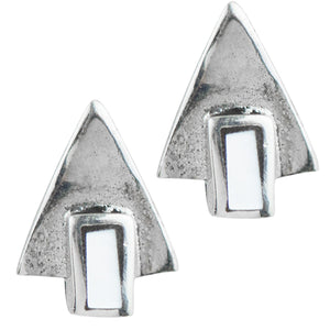 Deco Triangle Post In Mother Of Pearl