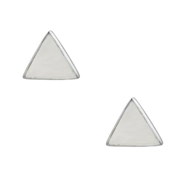 Small Triangle Post In Mother Of Pearl