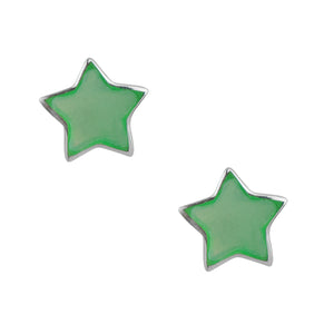 Star Post In Green