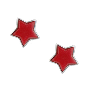 Star Post In Red