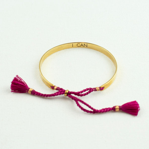 "Message in a Bangle - ""I CAN"""